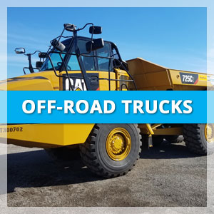 off-road trucks Triple E Equipment